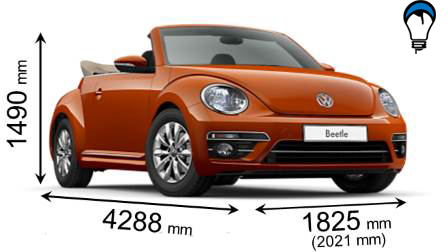 Volkswagen BEETLE CABRIO - 2016