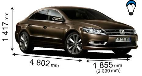 Volkswagen CC - 2012