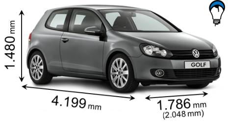 Volkswagen GOLF - 2008