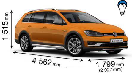 Volkswagen GOLF ALLTRACK - 2015