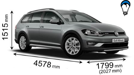 Volkswagen GOLF ALLTRACK - 2017