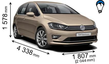 Volkswagen GOLF SPORTSVAN - 2014