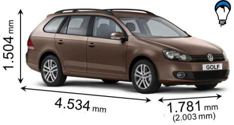 Volkswagen GOLF VARIANT - 2008