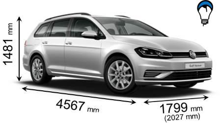Volkswagen GOLF VARIANT - 2017