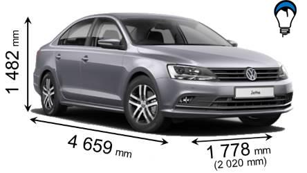Volkswagen JETTA - 2015
