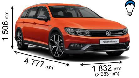 Volkswagen PASSAT ALLTRACK - 2015
