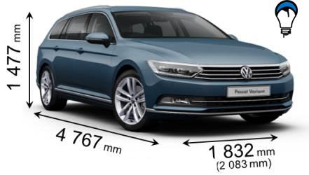 Volkswagen PASSAT VARIANT - 2015
