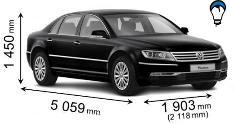 Volkswagen PHAETON - 2010