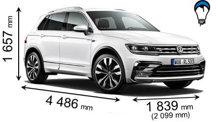 Volkswagen TIGUAN - 2016