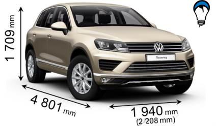 Volkswagen TOUAREG - 2015