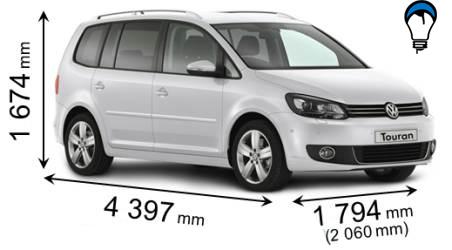 Volkswagen TOURAN - 2010