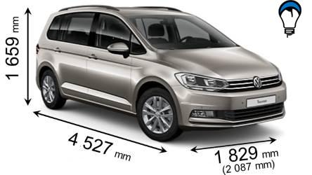 Volkswagen TOURAN - 2016