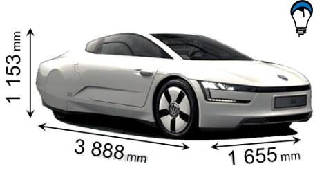 Volkswagen XL1 - 2014